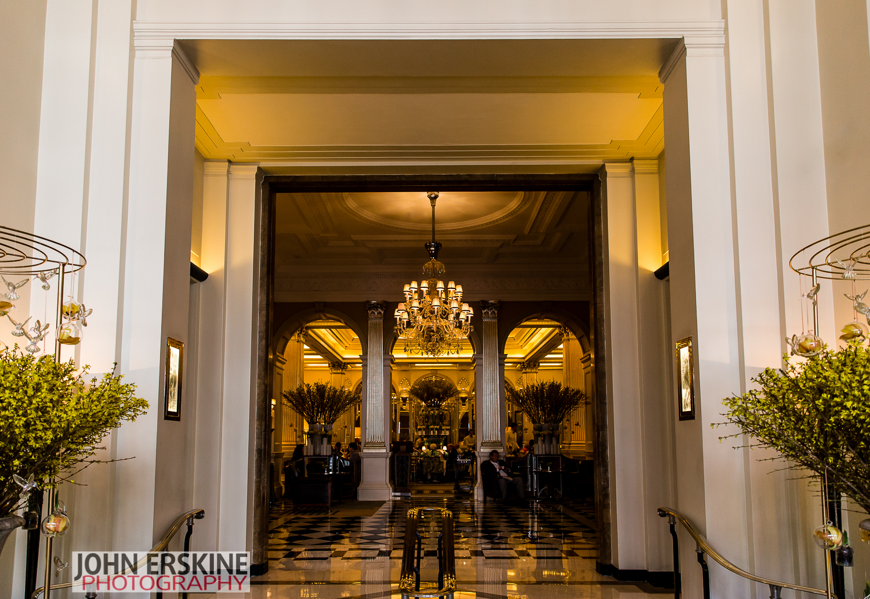 Claridges Hotel Lobby Art Deco London