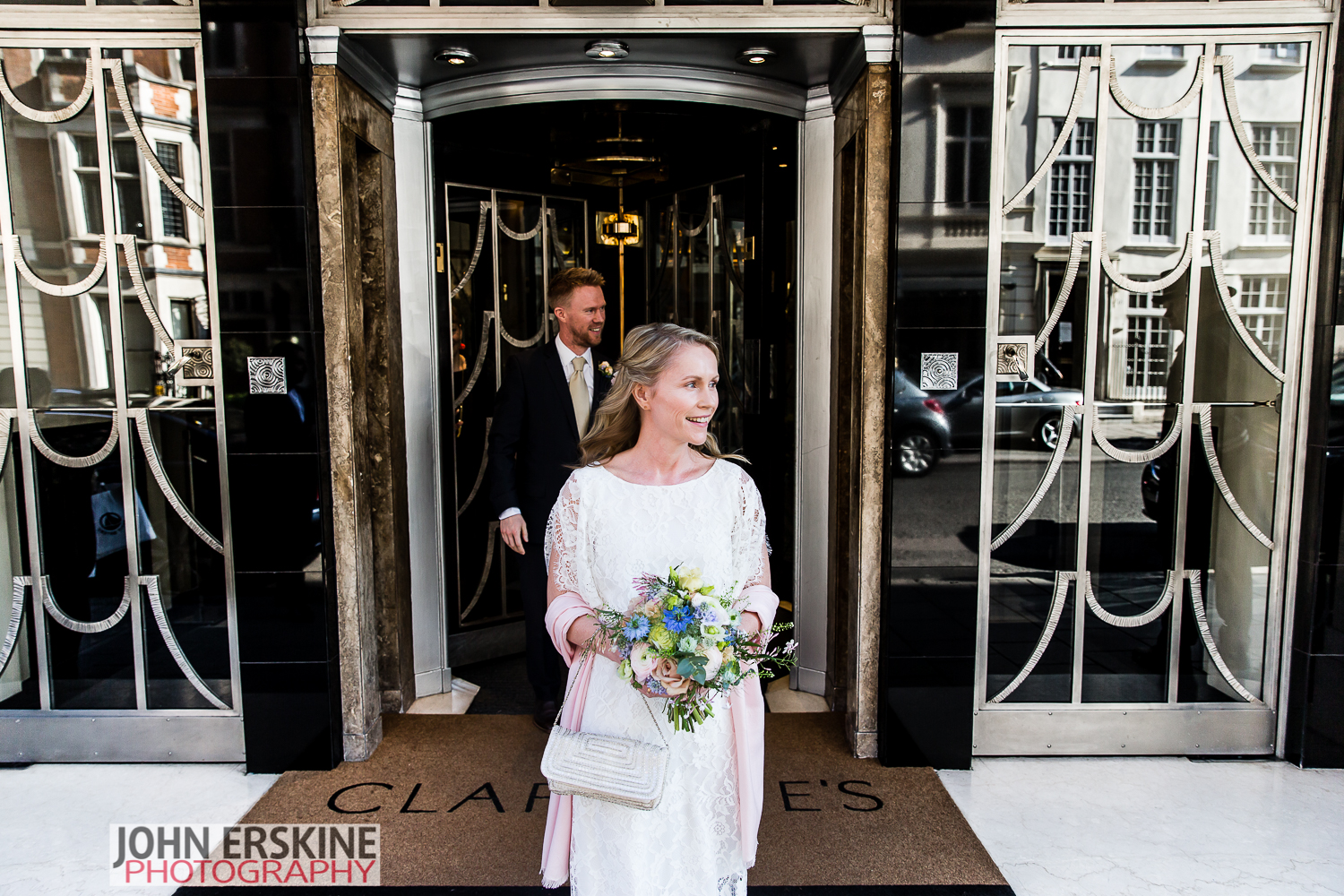 Mayfair Wedding Photographer Claridges Bride Brother
