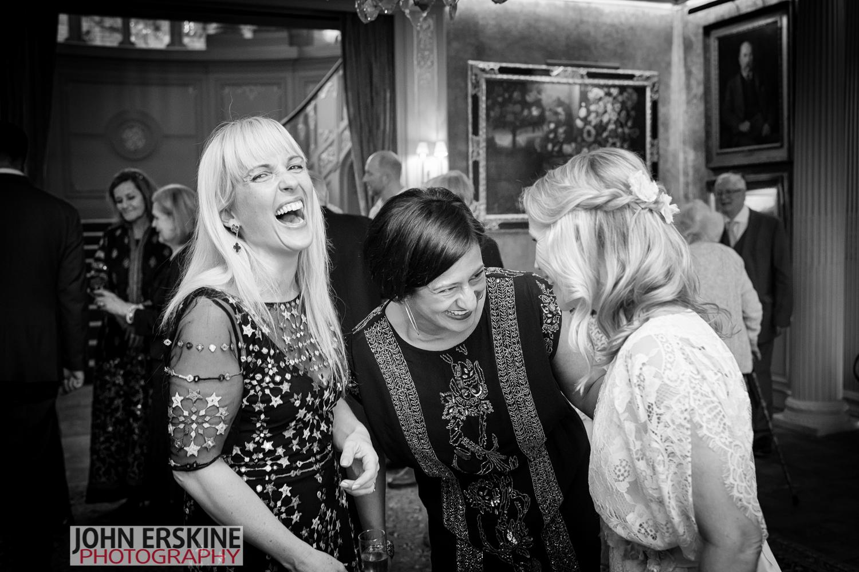 Brides Friends Laugh