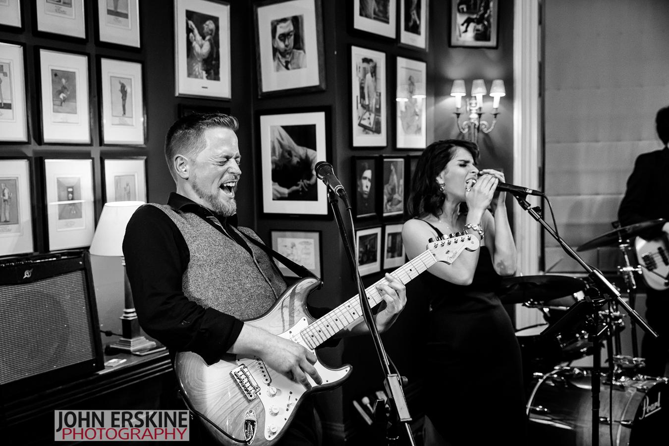 London Wedding Band rocking it through the night Guitarist
