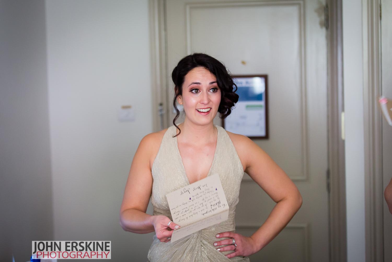 Wedding Photographers in Surrey Bridesmaid Tears