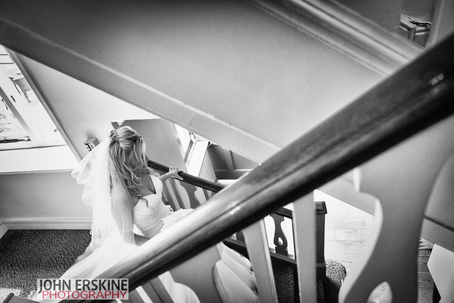 Classic Bridal Portrait Surrey Wedding Photographer Box Hill