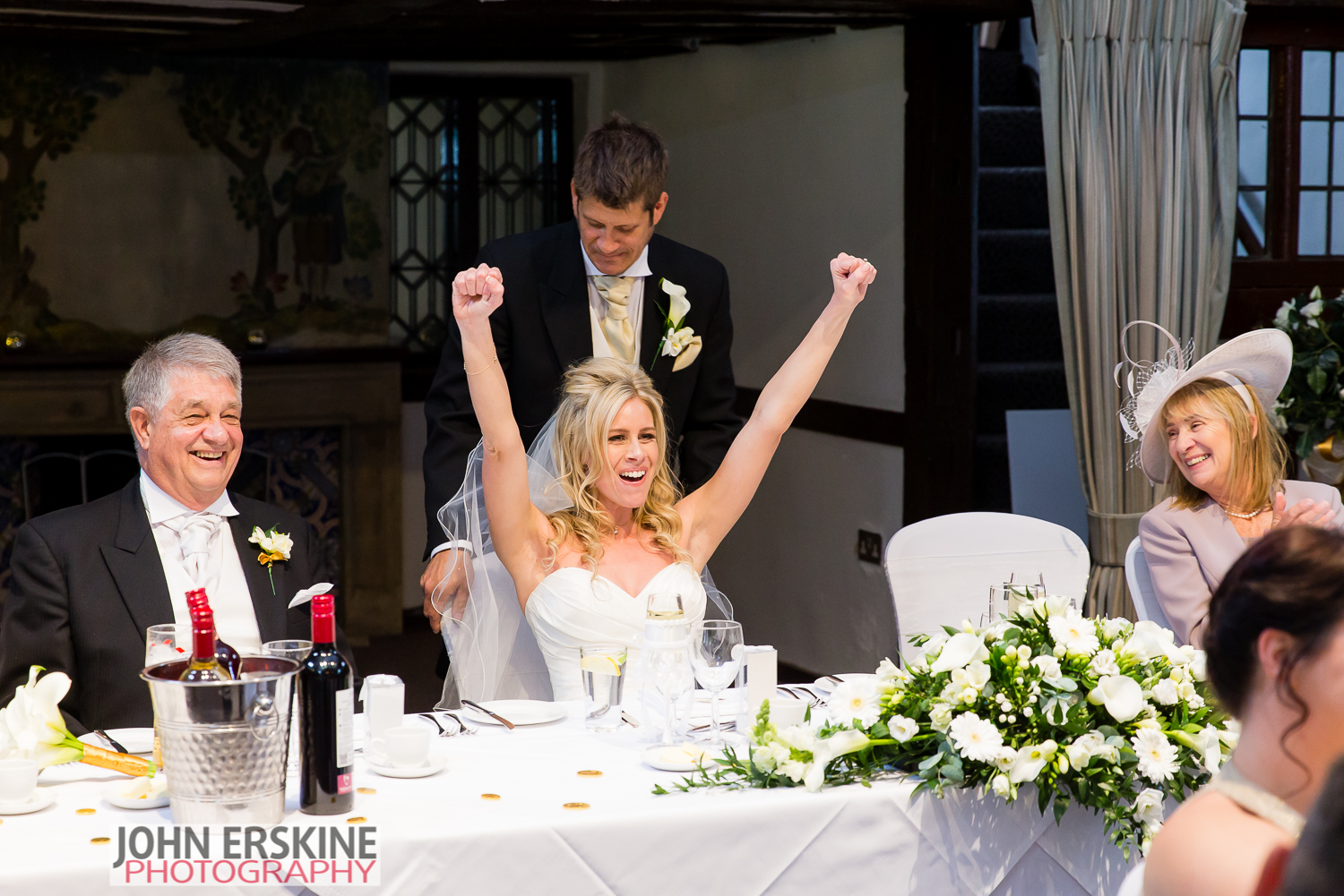 Bride Fist Pump