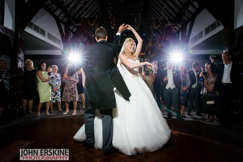 First dance spin surrey wedding