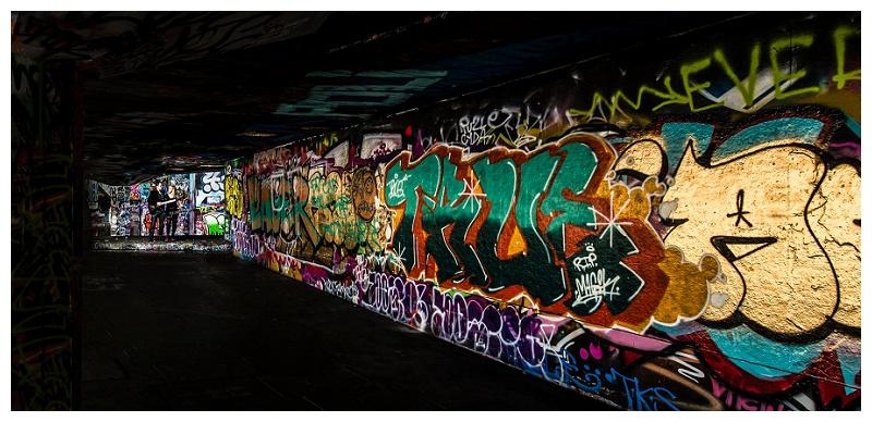 Best London Engagement Shoot Photographer_Grafitti & Guitars