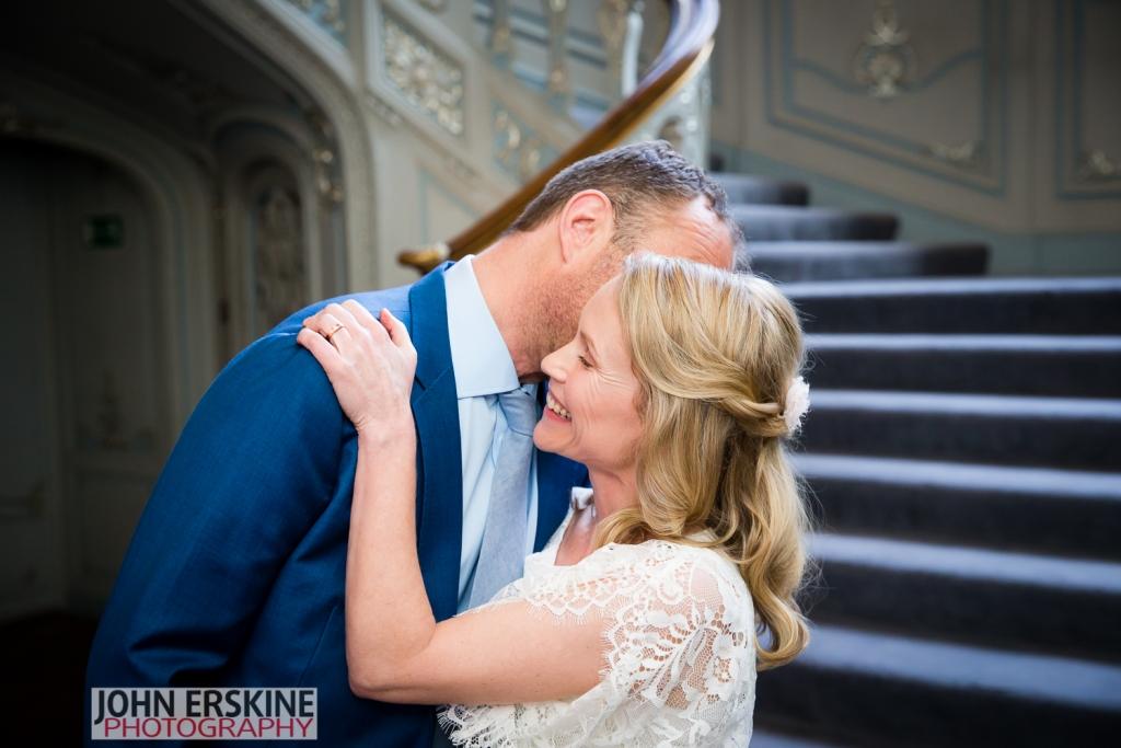 Savile Club Wedding Documentary Photography Laughter